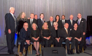 Official group portrait of Chicago's Legendary Landmark honorees