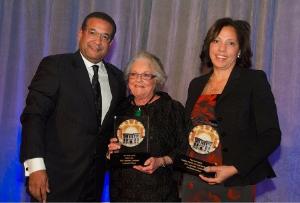 Honorees Langdon Neal, Isobel Neal, Jeanette Sublett