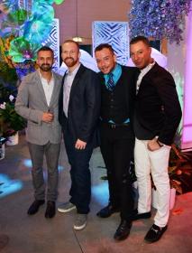 Diego Rocha, Chris Schmidt, Michael Hopkins and Benjamin Cottrell