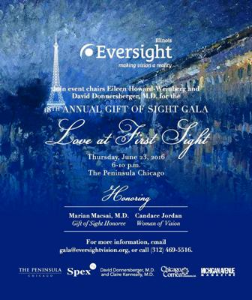 Eversight Gala info June 23 Peninsula