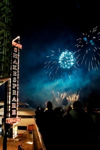 Fireworks for Shakespeare Gala!
