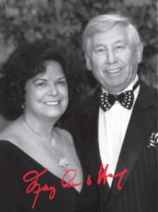 Stanley Paul-Raelene Mittelman Scholarship honorees, MaryAnn Rose and Heinz Kern