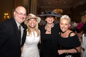 Kevin Sullivan, Sharyl Mackey, Jean Antoniou and Laura Schwartz