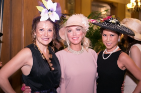 Tina Weller, Mary Lasky and Frances Renk