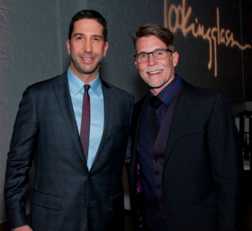 Co-founder and ensemble member David Schwimmer and Chef Rick Bayless