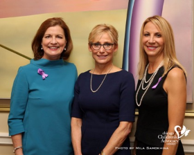 Co-chair Sheila McGinn Dorman, honoree Amy Rule and co-chair Mara Walsh