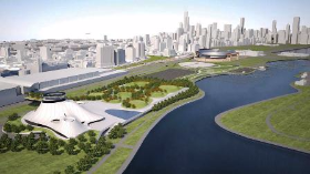 Lucas Museum of Narrative Art rendering