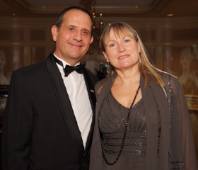 Vincent and Christine Floreani--guests of honor