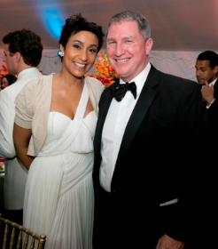 Desiree Rogers and Fred O'Connor
