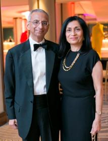 Bobby Mehta and Goodman WB President Swati Mehta