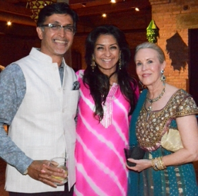 Rahul and Anuradhika Roy and Susan Aurinko