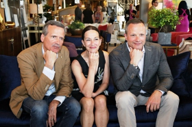 Cynthia Rowley with Walter Smithe III and Mark Smithe