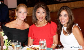Dr. Stacie McClane, ABC-7's Linda Yu (our awesome emcee) and Tracey Tarantino