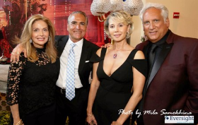 Susan and Charles Ifergan with Teddie Kossof and friend
