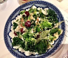 Brussell and Kale Salad