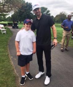 Brett Lasky and the Cubs' Ben Zobrist