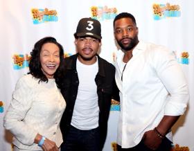 Merri Dee, Chance and LaRoyce Hawkins