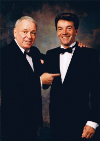 Ol' Blue Eyes Frank Sinatra with Tom Dreesen