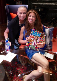 With the beautiful, and kind-hearted dog lover Dylan Lauren