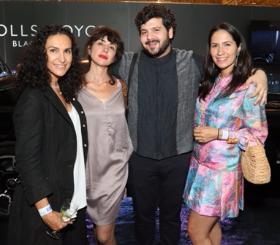 Shulamit Nazarin, Hannah Feldman, Omar Kholeif and Nancy Gambou