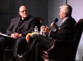 Dean Richards interviews Tom Dreesen