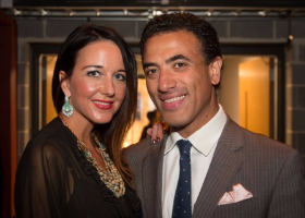 Katherine Russian and Mohammed Cheaib