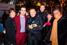 Actress Rosemarie DeWitt, director Damien Chazelle, founder/artistic director Michael Kutza, jury member David Verbeek, jury president Geraldine Chaplin and Patricio Castilla