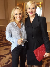 Tina Weller and Kathy Piccone