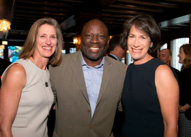 Kimbra Walter (Trustee/2016/2016 Season Sponsor), Les Coney (Life Trustee/Past Chair) and Diana Rauner (First Lady of Illinois)
