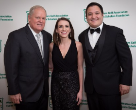 Johnny Miller, Chantal Cortez and Scott Ahmad