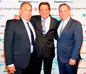 Dr. Barry Miskin, Joe Namath and Dr. Lee Fox