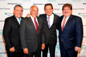 Joe Cabrera, Charlie Modica, Joe Namath and Dan Ricciardi