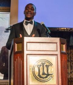 Jeremy Murphy (Barreto Club Director and Barreto Alumnus) shared the positive impact ULBGC has had on his life