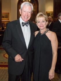 Stephen Schlegel (ULBGC trustee) and Cindy Doloughty (ULBGC 2nd VP)