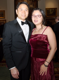 Jeffrey Chen and Victoria Cheng (ULBGC trustees)