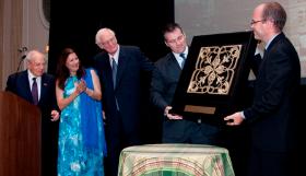Adler and Sullivan Award presented to Ed Weil, Jr.