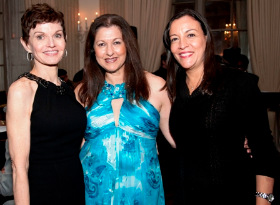 Denise Sobel, Tania Castroverde Moskalenko and Lizt Alfonso