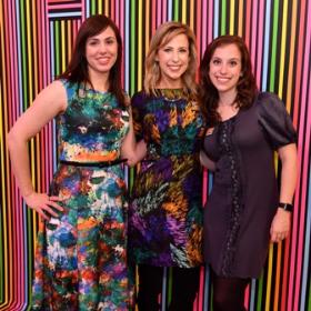 Danielle Love, Erica Strama and Hannah Perlmutter