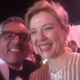Jim and Annette Bening