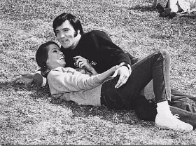 "MTM with Elvis on the set of ""Change of Habit"""