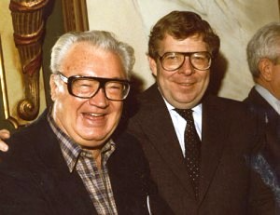 Harry Caray and Butch McGuire