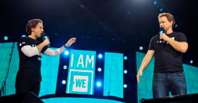 We Day co-founders Marc and Craig Kielburger