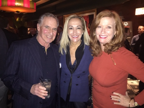 Donnie and Gabrielle Weisberg with Liz Sharp