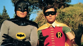 Batman and Robin--Adam West and Burt Ward
