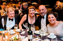 Nancy Timmers (2nd from left) and friends