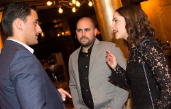 Event chairs Brian Gutman, Dana and Oliver Plotkin
