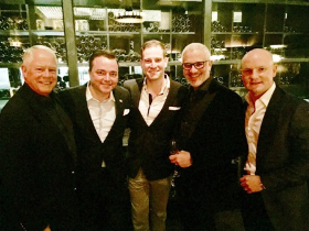 Chuck, Todd Hatoff, William Holdeman, Dr. Joaquin Brieva and Dimitry Cherenshikov
