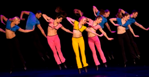 "Thodos Dance Chicago ensemble members perform an excerpt from the company's acclaimed ""Fosse Trilogy."""