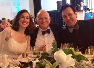 Elizabeth Crane, Jim Smith and Rudy Savala