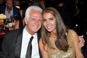 MOCA board co-chair Maurice Marciano and actress Vaitiare Hirshon